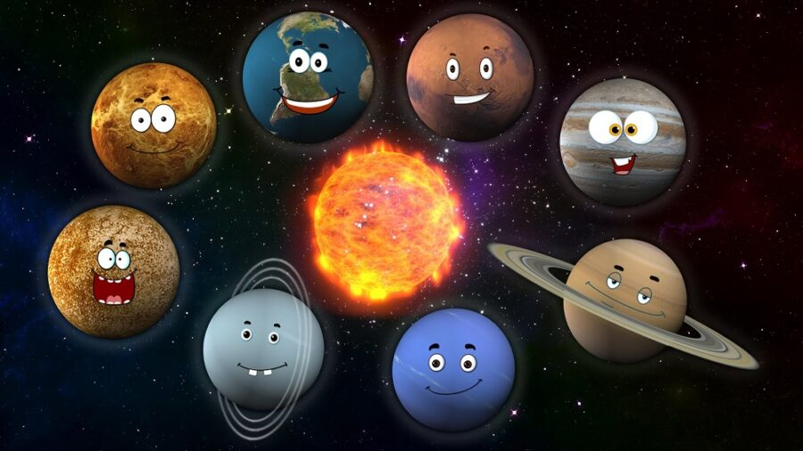 planets and emotions