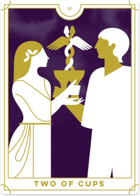 two of cups tarot