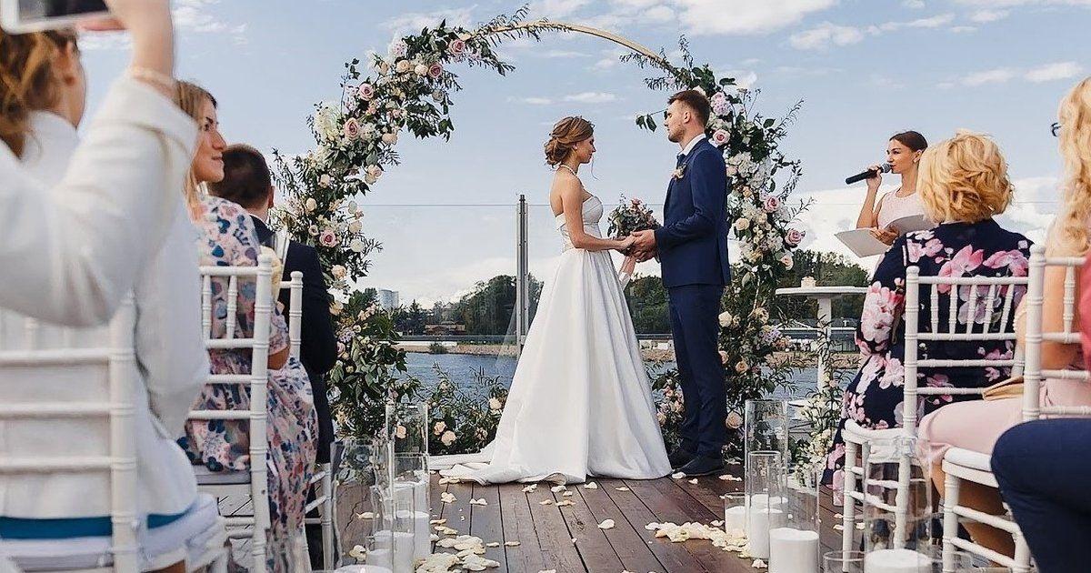 свадьба церемония
